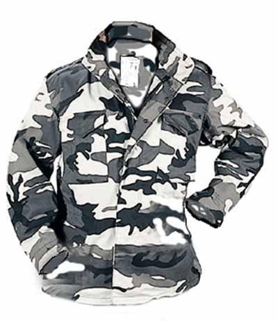 eeb9f28e1f5f2 Rothco 8994 /98 M-65 Field Jacket Urban Camo - With Liner