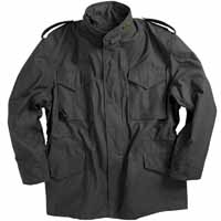 Alpha mjm24000c1 / M-65 Field Jacket Black (WITHOUT LINER)