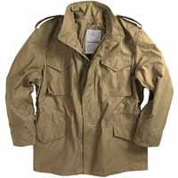 Alpha mjm24000c1 / M-65 Field Jacket Khaki (WITH LINER)