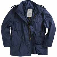 Alpha mjm24000c1 / M-65 Field Jacket Navy (WITHOUT LINER)