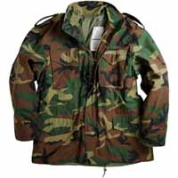 Alpha mjm24000c1 / M-65 Field Jacket Woodland (WITHOUT LINER)