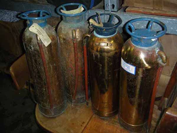 Brass Fire Extinguishers