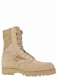 "McRae 3187 Mil-Spec 8"" Hot Weather Desert Boot Tan"