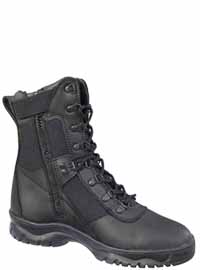 Rothco 5053 8 Inch Forced Entry Tactical Boot Side Zip - Black