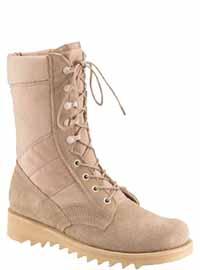 Rothco 5058 10 Inch Ripple Sole Jungle Boot - Desert Tan