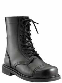 Rothco 5075 9 Inch GI Type Combat Boot Cap Toe - Black