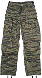 4487 VINTAGE TIGERSTRIPE R/S VIETNAM FATIGUE PANTS